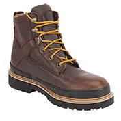 """KING'S® KGEO02 Men's Leather Workboot, 6"""" Height, Size 8, Brown"""
