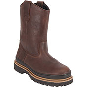 """KING'S® KWRG01 Rigger/Wellie Workboot, 10"""" Height, Size 9, Brown"""