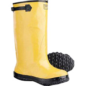 ComfitWear® Slush Boots, Size 9, Rubber, Yellow, 1-Pair - Pkg Qty 6