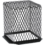 "HY-C Roof VentGuard Black-Painted Galvanized Steel 11"" x 11"" x 13"" - RVG1111G"