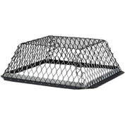 "HY-C Roof VentGuard Black-Painted Galvanized Steel 16"" x 16"" x 6"" - RVG1616G"