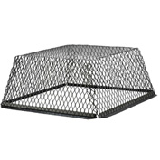 "HY-C Roof VentGuard Black-Painted Galvanized Steel 25"" x 25"" x 12"" - RVG2525G"