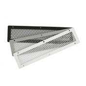 """HY-C Soffit VentGuard Gray-Painted Stainless Steel 4"""" x 16""""  - VG0416S-1G"""