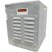 """Hartzell Weather Cover For Belt Drive Vaneaxial Fan-S54G, 36"""", S54-G-WEATHER COVER-36"""