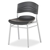 Iceberg Café Chair - Black - Pack of 2 - CaféWorks™ Series