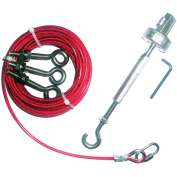 IDEM 140018 Rope Kit-SS, 126M, SS - Pkg Qty 48