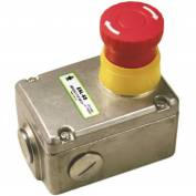 IDEM 232002 ESL-SS E-Stop Switch, 2NO, 1/2NPT