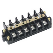 Ideal 89-507 Terminal Strip, 6-Circuit, Shorting Block, 22-6 AWG