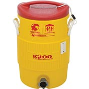 Igloo 48153 - Water & Beverage Cooler, Heat Stress Solution, Yellow, 5 Gallons