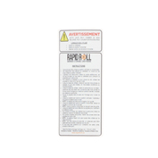 IRONguard RapidRoll™ Spanish Warning Label, 70-7008