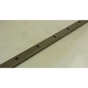 IKO LWE Series Carbon Steel Rail for Maintenance-Free ME20 1000mm Long, M5 x 16 Bolt