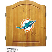 Miami Dolphins Dart Cabinet