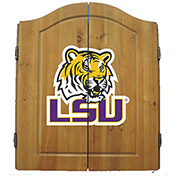 Louisiana State University Dart Cabinet
