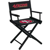 San Francisco 49Ers Table Height Director Chair