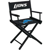 Detroit Lions Table Height Director Chair