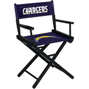 San Diego Chargers Table Height Director Chair
