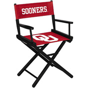 University Of Oklahoma Table Height Director Chair
