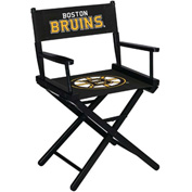 Boston Bruins Table Height Director Chair