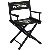 Pittsburgh Penguins Table Height Director Chair