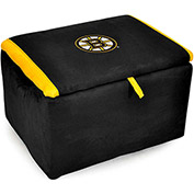 Boston Bruins Storage Bench with Foam Padding