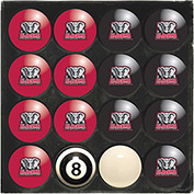 University Of Alabama Home Vs. Away Billiard Ball Set