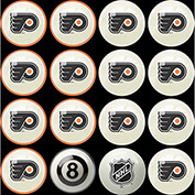 Philadelphia Flyers Home Vs. Away Billiard Ball Set