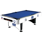 Indianapolis Colts 8'L Pool Table