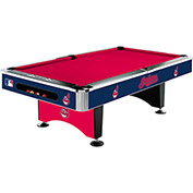 Cleveland Indians 8'L Pool Table