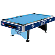 Tampa Bay Rays 8'L Pool Table