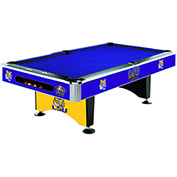 Louisiana State University 8'L Pool Table