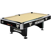 Pittsburgh Penguins 8'L Pool Table