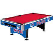 New York Rangers 8'L Pool Table