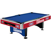 Montreal Canadians 8'L Pool Table