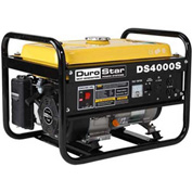 DuroStar DS4000S Air Cooled OHV Gas Engine Portable Generator, 4000W, 7.0HP