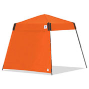 E-Z UP® Side Wall, SW3SO8SALGY, 8' Angle Leg, Orange With Grey Accents