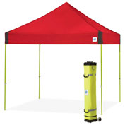 E-Z Up® Vantage™ Instant Shelter, VG3LA10PN, 10x10', Punch Top With Limeade Frame