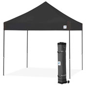 E-Z Up® Vantage™ Instant Shelter, VG3SG10BK, 10x10', Black Top With Grey Frame