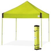 E-Z Up® Vantage™ Instant Shelter, VG3SG10LA, 10x10', Limeade Top With Grey Frame