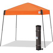 E-Z Up® Vantage™ Instant Shelter, VG3SO10SG, 10x10', Grey Top With Orange Frame