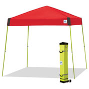 E-Z Up® Vista™ Instant Shelter, VS3LA12PN, 12x12', Punch Top With Limeade Frame