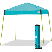 E-Z Up® Vista™ Instant Shelter, VS3LA12SP, 12x12', Splash Top With Limeade Frame