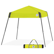 E-Z Up® Vista™ Sport Instant Shelter, VS3SG08LA, 8x8', Limeade Top With Grey Frame