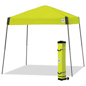 E-Z Up® Vista™ Instant Shelter, VS3SG10LA, 10x10', Limeade Top With Grey Frame
