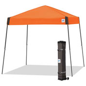 E-Z Up® Vista™ Instant Shelter, VS3SG10SO, 10x10', Orange Top With Grey Frame
