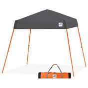 E-Z Up® Vista™ Sport Instant Shelter, VS3SO08SG, 8x8', Grey Top With Orange Frame