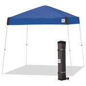 E-Z Up® Vista™ Instant Shelter, VS3WH10RB, 10x10', Royal Blue Top With White Frame