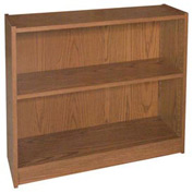 "30"" Adjustable Bookcase - 36""W x 11-7/8""D x 30-5/8""H Medium Oak"