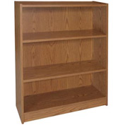 "36"" Adjustable Bookcase - 36""W x 11-7/8""D x 35-5/8""H Medium Oak"