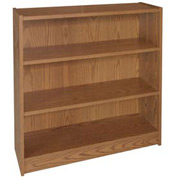 "42"" Adjustable Bookcase - 36""W x 11-7/8""D x 41-7/8""H Medium Oak"