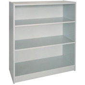 "42"" Adjustable Bookcase - 36""W x 11-7/8""D x 41-7/8""H Gray"